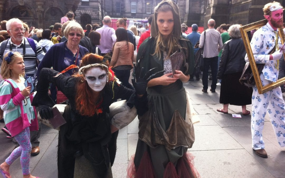 Edinburgh Fringe Grimm Season: Blog 1